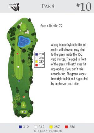Ingersoll Golf Club: Hole 10