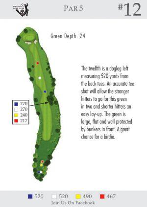 Ingersoll Golf Club: Hole 12