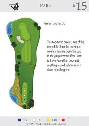 Ingersoll Golf Club: Hole 15