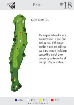 Ingersoll Golf Club: Hole 18