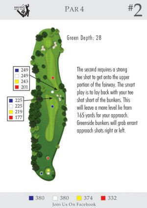 Ingersoll Golf Club: Hole 2
