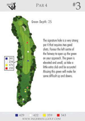 Ingersoll Golf Club: Hole 3