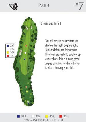 Ingersoll Golf Club: Hole 7