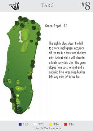 Ingersoll Golf Club: Hole 8