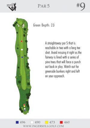 Ingersoll Golf Club: Hole 9