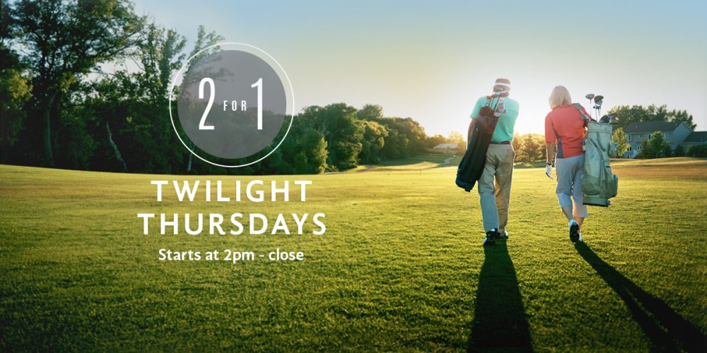 2 for 1 Twilight Thursdays